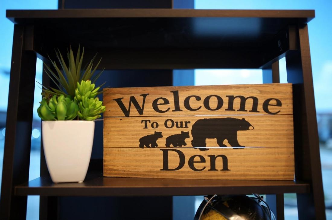 image of the office welcome signage | Houston TX