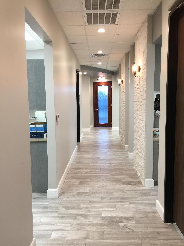 image of the office hallway | Houston TX