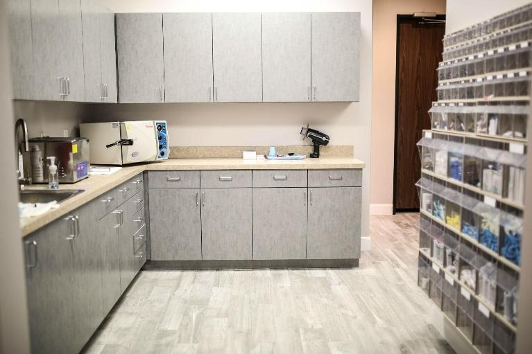 image of the office sterilization area | Houston TX